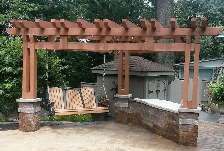 Outdoor Plan With Swing Pergola Pergola Outdoor Pergola Pergola Carport