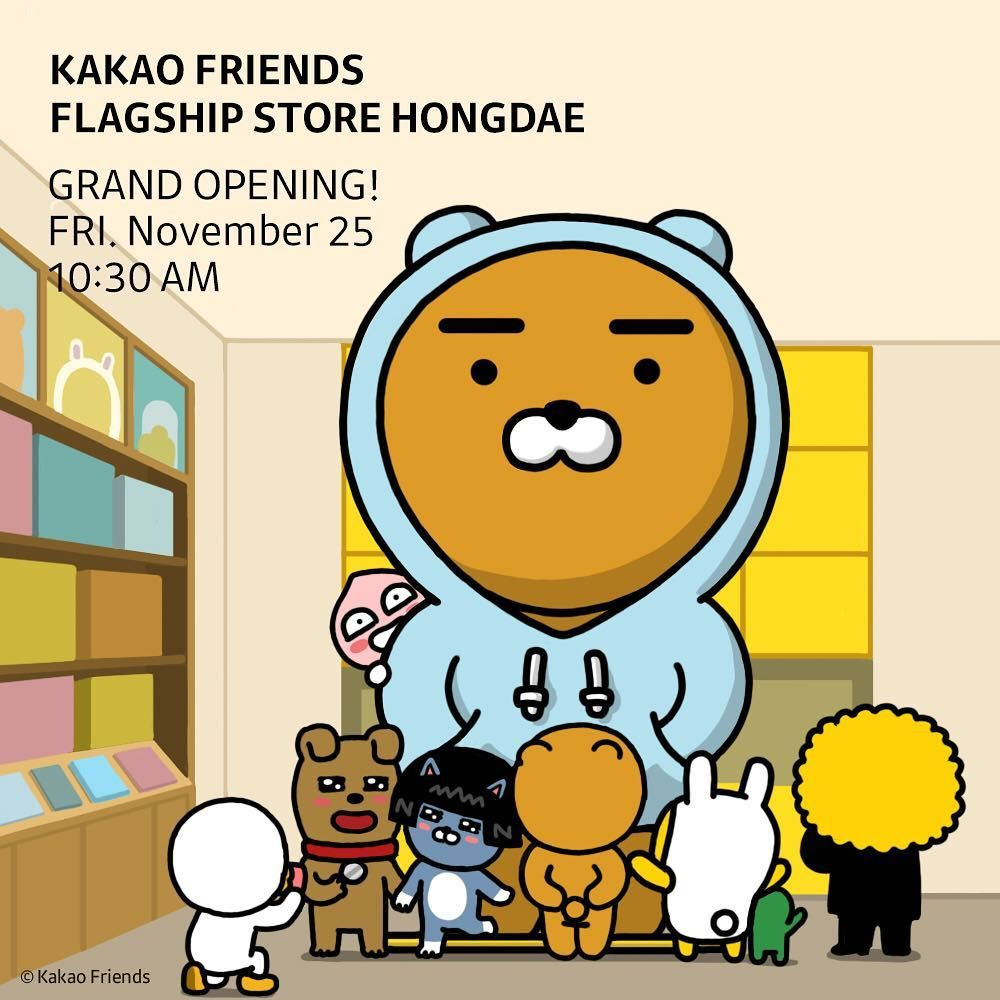 Pin by Azhong_work on Graphic Kakao friends, Line
