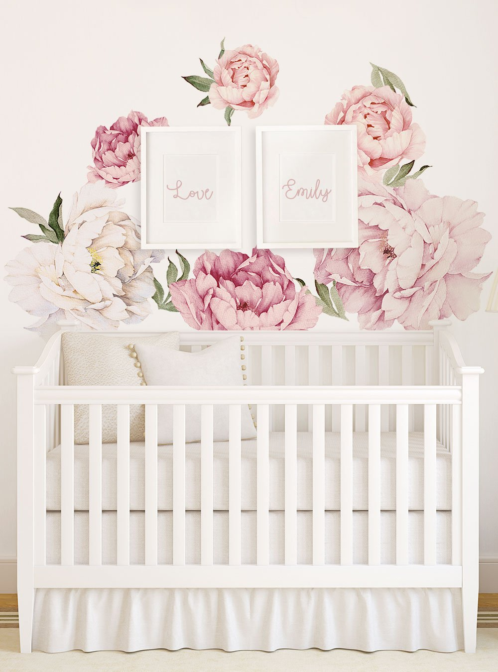 Peony Flower Wall Stickers With Images