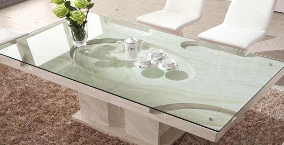 Glass Table Covers for Coffee Tables Nightstands Desks Tempered