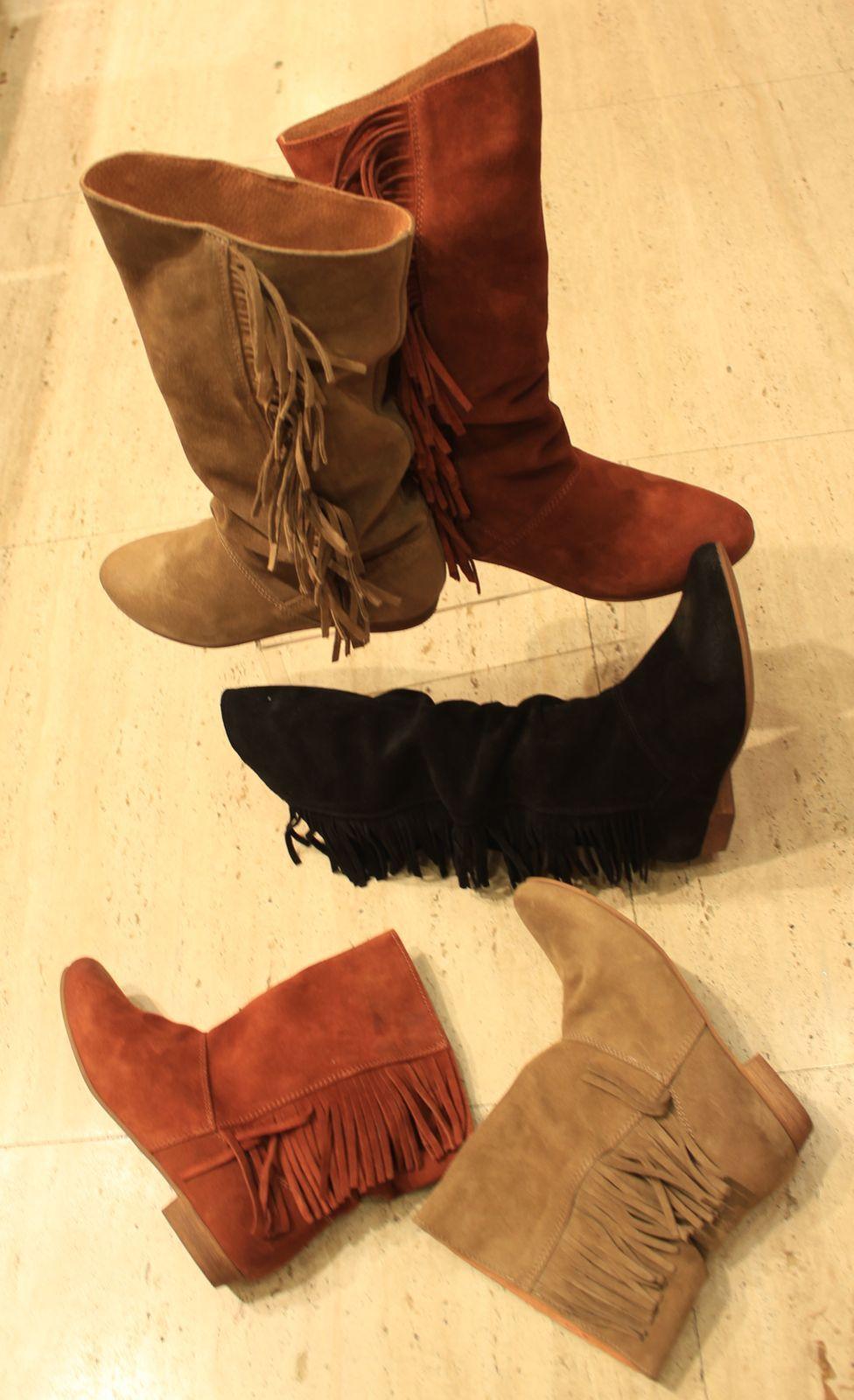 438af4f203296 Calzados NIZA y ZAS Shoes  Botas de serraje y colores tierra ...