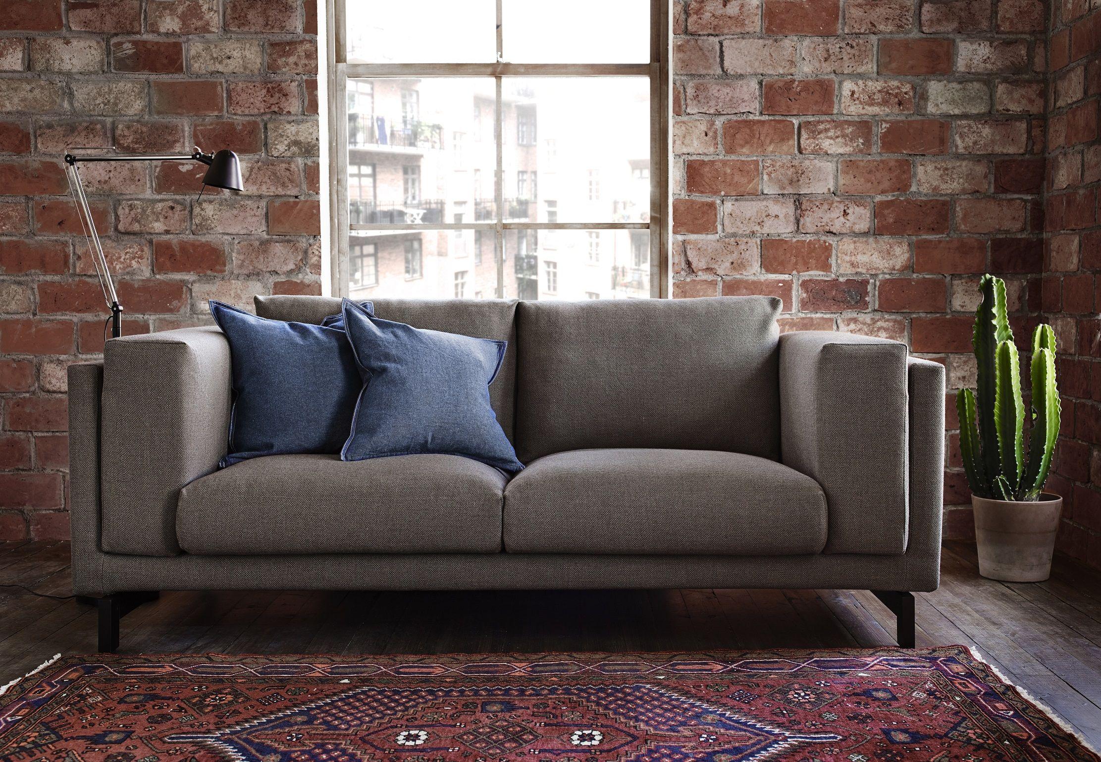 NOCKEBY bank | #IKEA #IKEAnl #woonkamer #comfort #styling ...