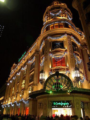 Barcelona Nadal 2007, El Corte Inglés