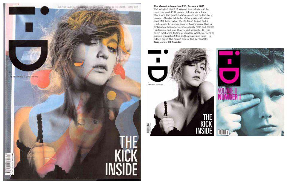 i-D covers 1980–2010. TASCHEN Books