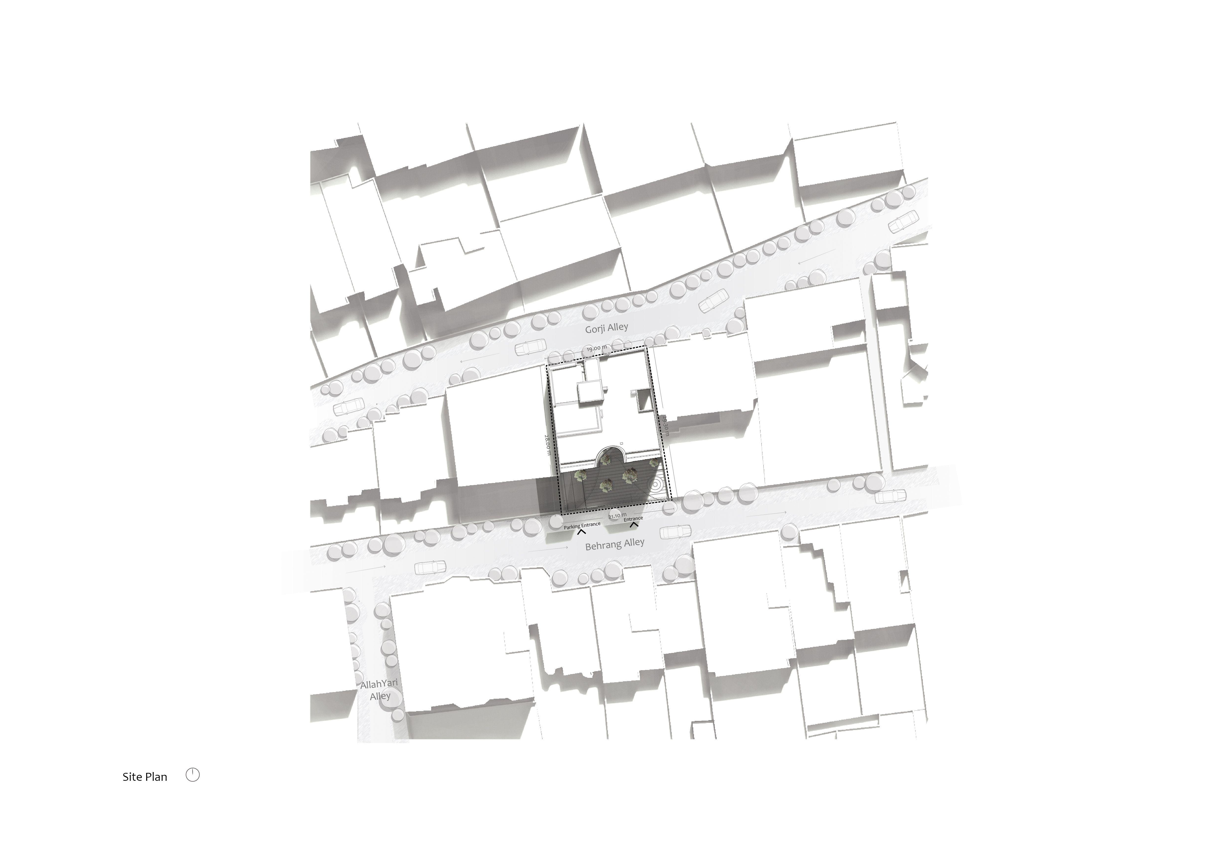 Navak Site Plan Site Plan Architecture Design