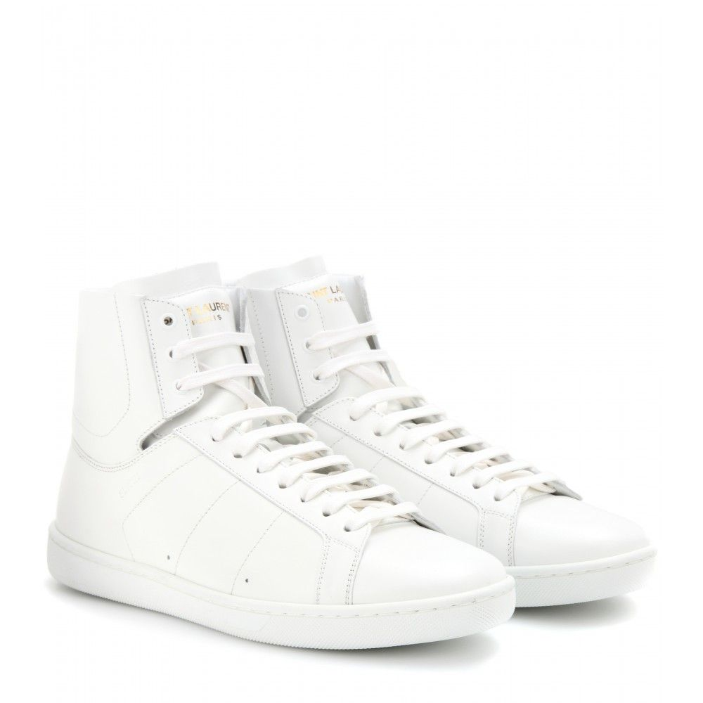 Top Leather SneakersR Saint Laurent High rBoeCdWx