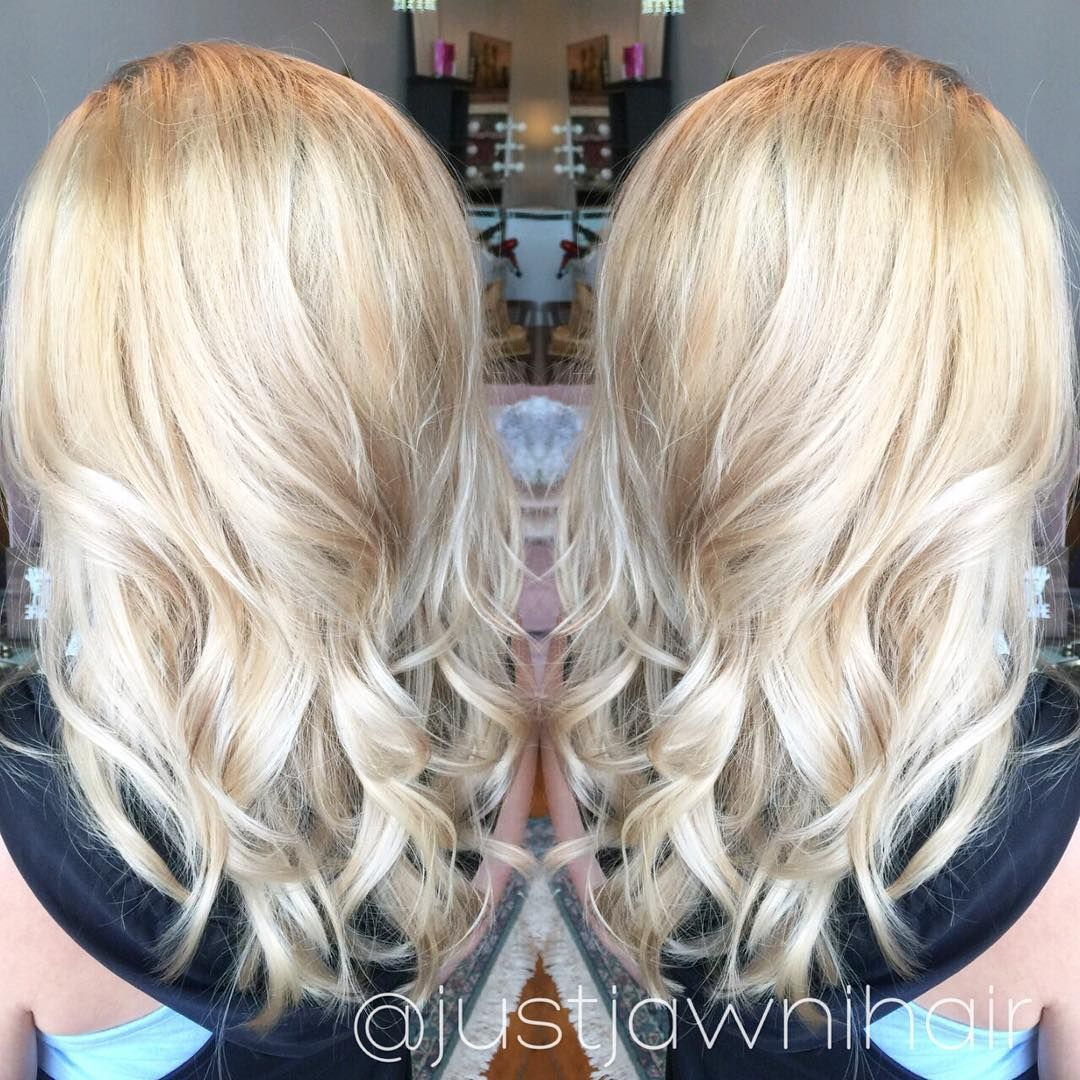 Er Blonde Platinum And Honey Redken Shades Eq Gloss Gi Series