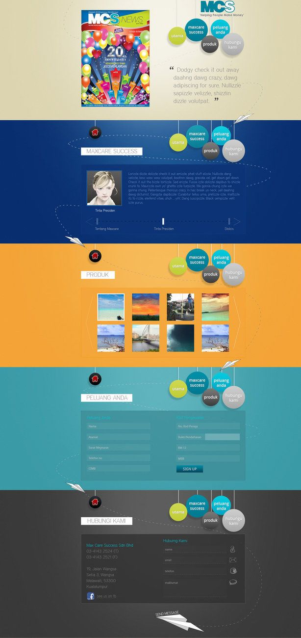 one page website - Google zoeken | One page websites | Pinterest ...