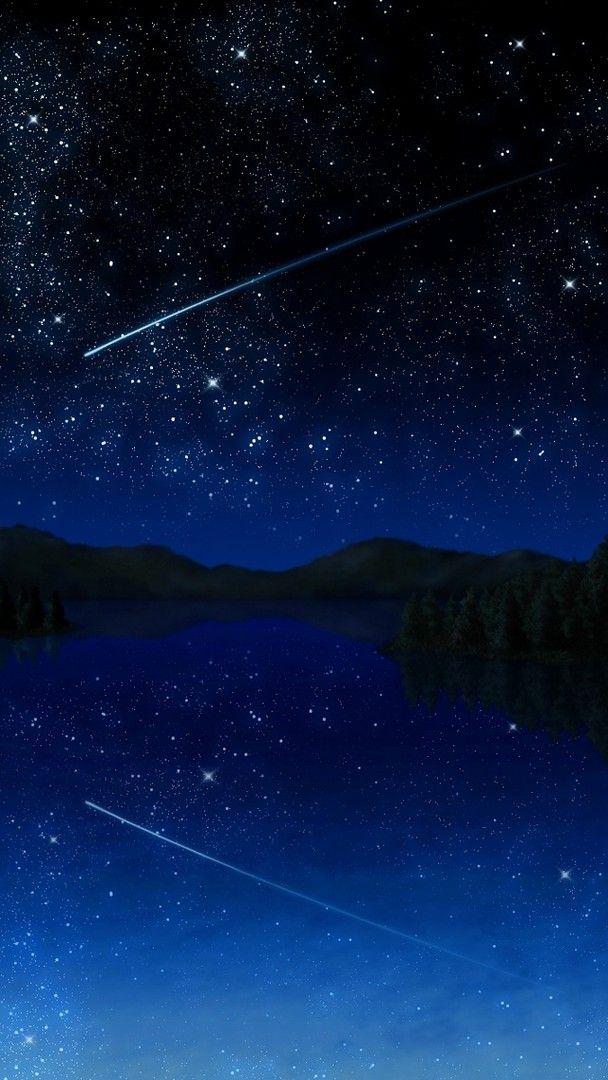 Best Iphone 8 Stars Wallpaper 2020 Live Wallpaper Hd Anime Scenery Star Wallpaper Background