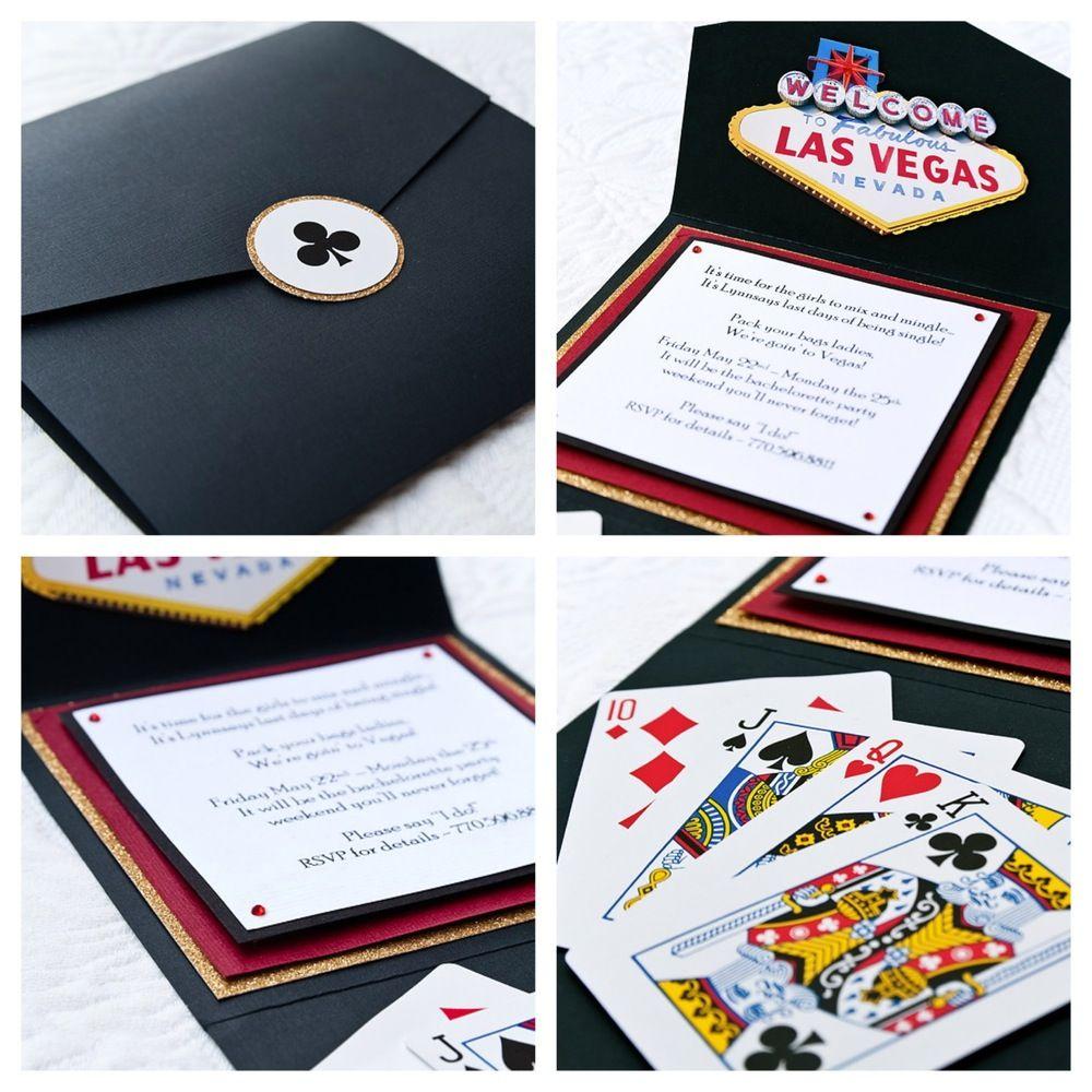 Casino Night Invites | Casino Night | Pinterest | Casino night ...