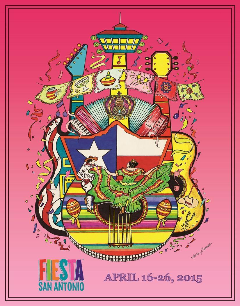 New Fiesta 2015 Poster Unveiled Fiesta Pinterest Fiestas