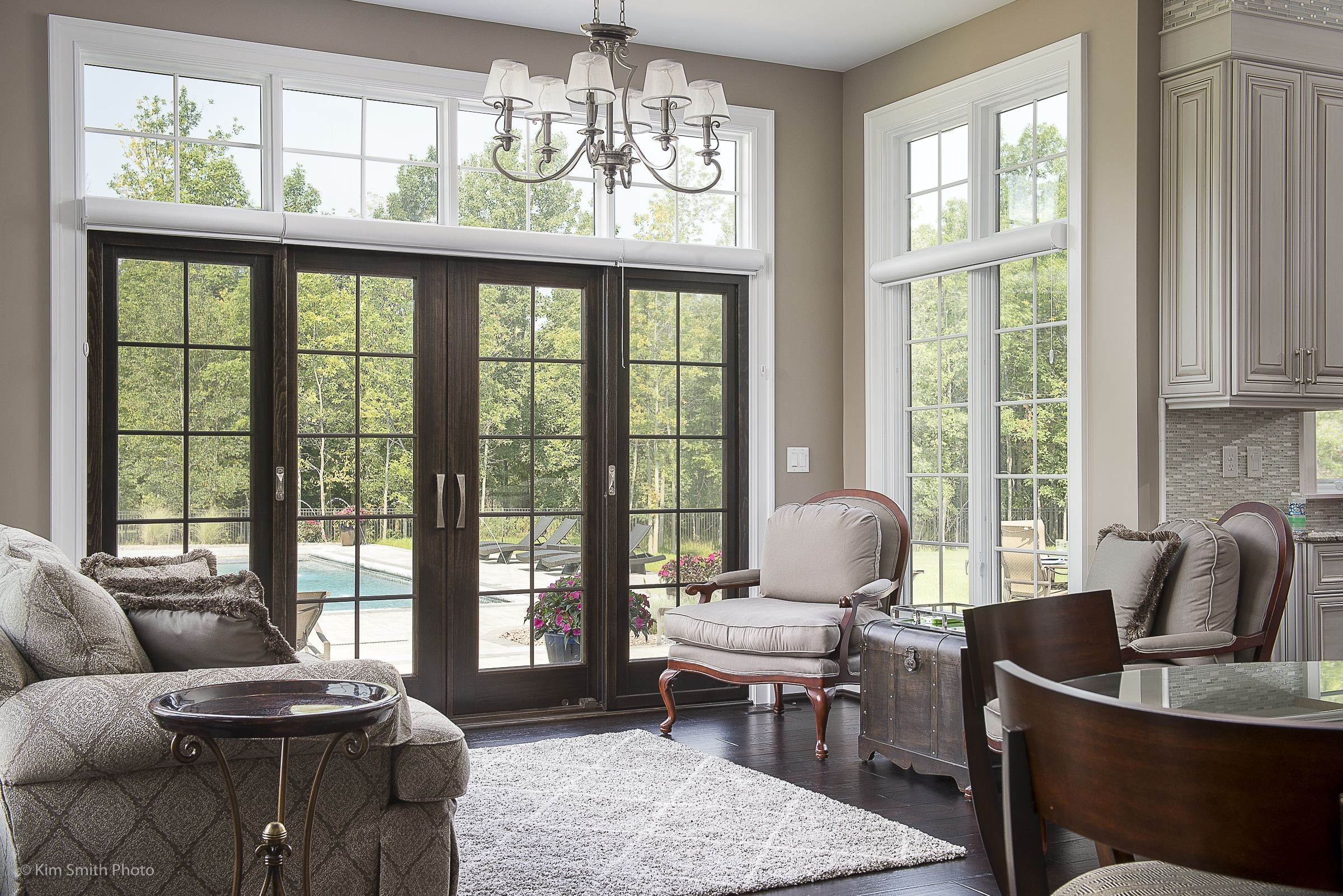 Great Sunroom With Natural Sunlight Home Custom Homes Home