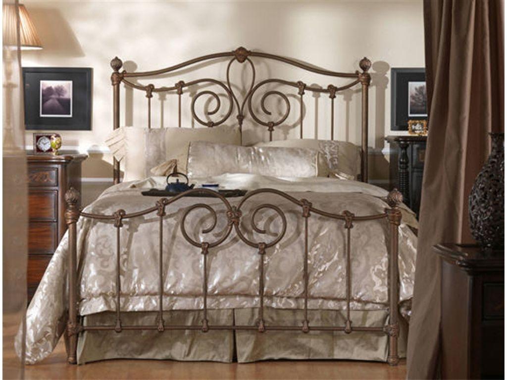 Wesley Allen Bedroom Olympia Complete Bed CB7165 The