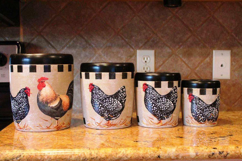 AWESOME Decorative Kitchen Canister Sets Photos