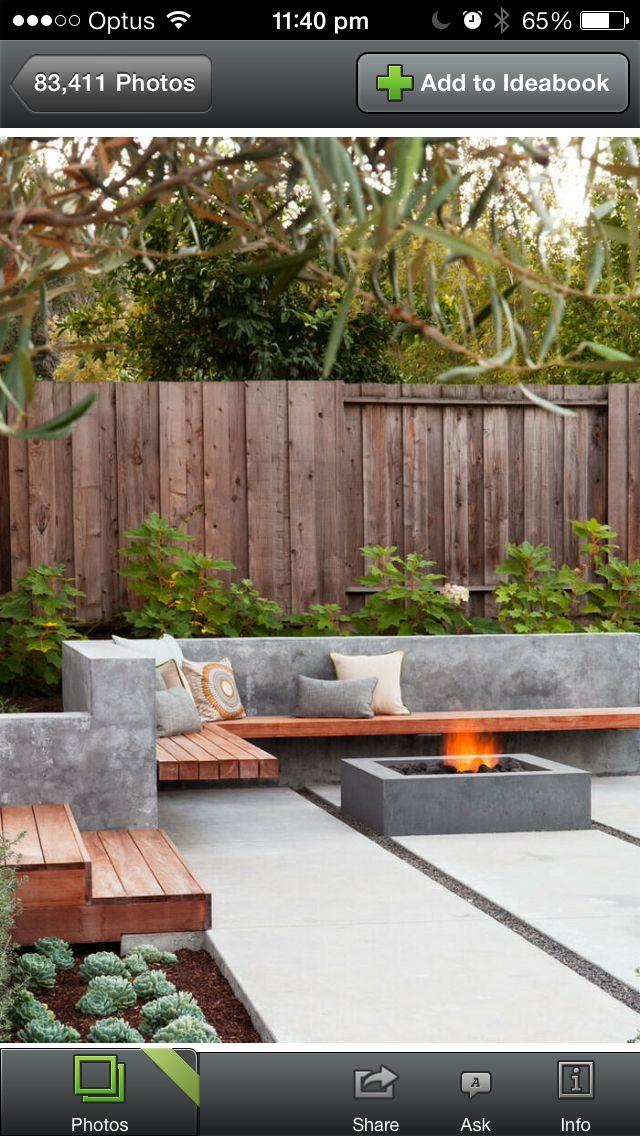 Pin by Concrete 4 U on Garden | Backyard, Backyard patio ... on Outdoor Living 4U id=76129