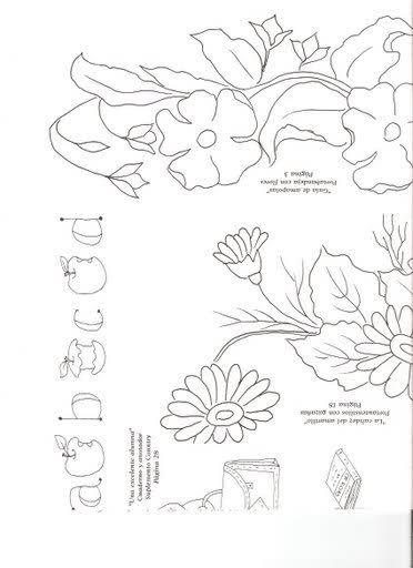 dibujos para manteles para pintar en tela - Buscar con Google