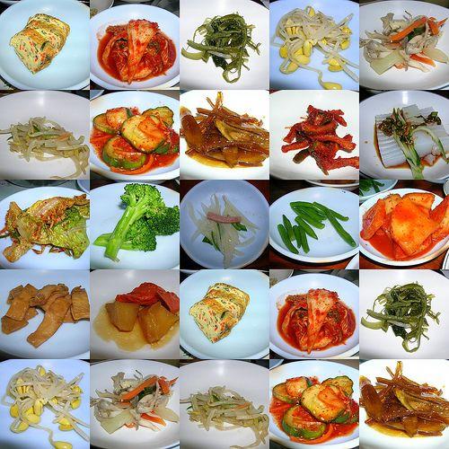 Panchan! Korean is the best.