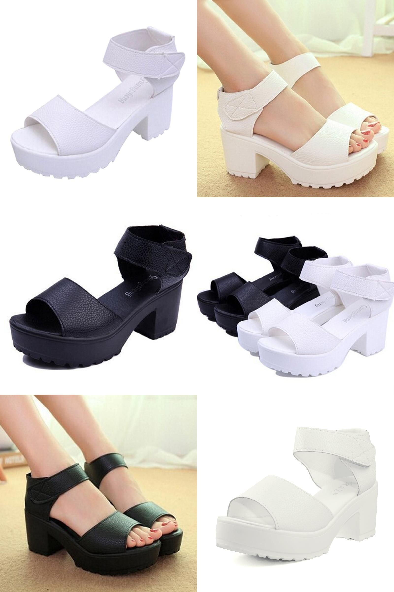 9a01f3a4b199  Visit to Buy  2016 New Summer Pep-toe Woman Sandals