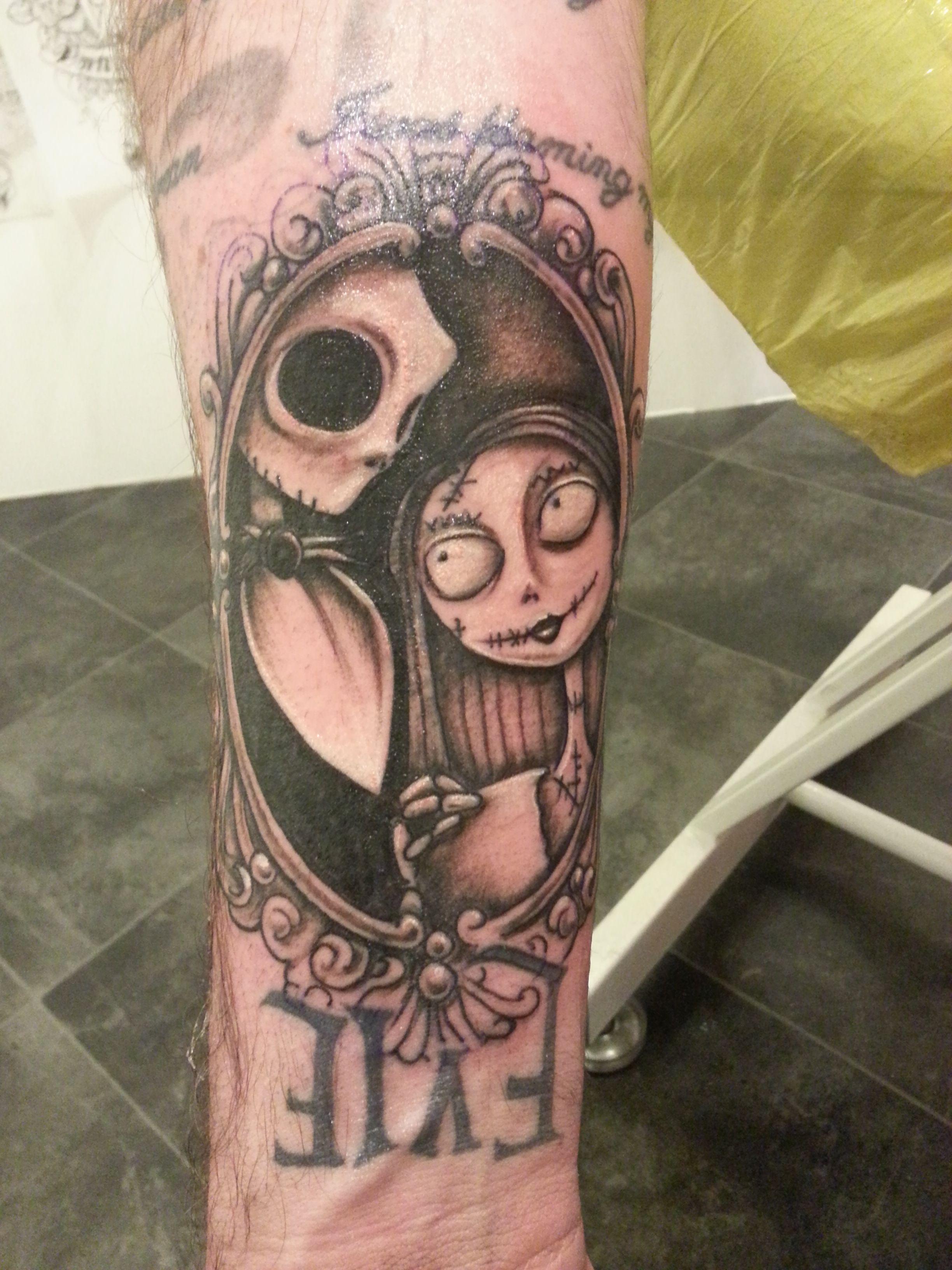 nightmare before christmas tattoo | Tattoo | Pinterest | Nightmare ...