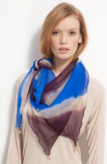 Sir Alistair Rai Tie Dye Silk Scarf | Nordstrom - StyleSays