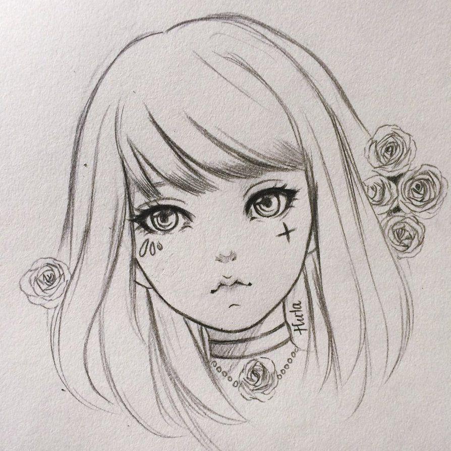 Photo of sketch by HutaChan0708 on DeviantArt