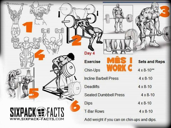 4abcf988c8f Huge Full Body Mass Muscular Development - Training   Nutrition Nutrition  Program