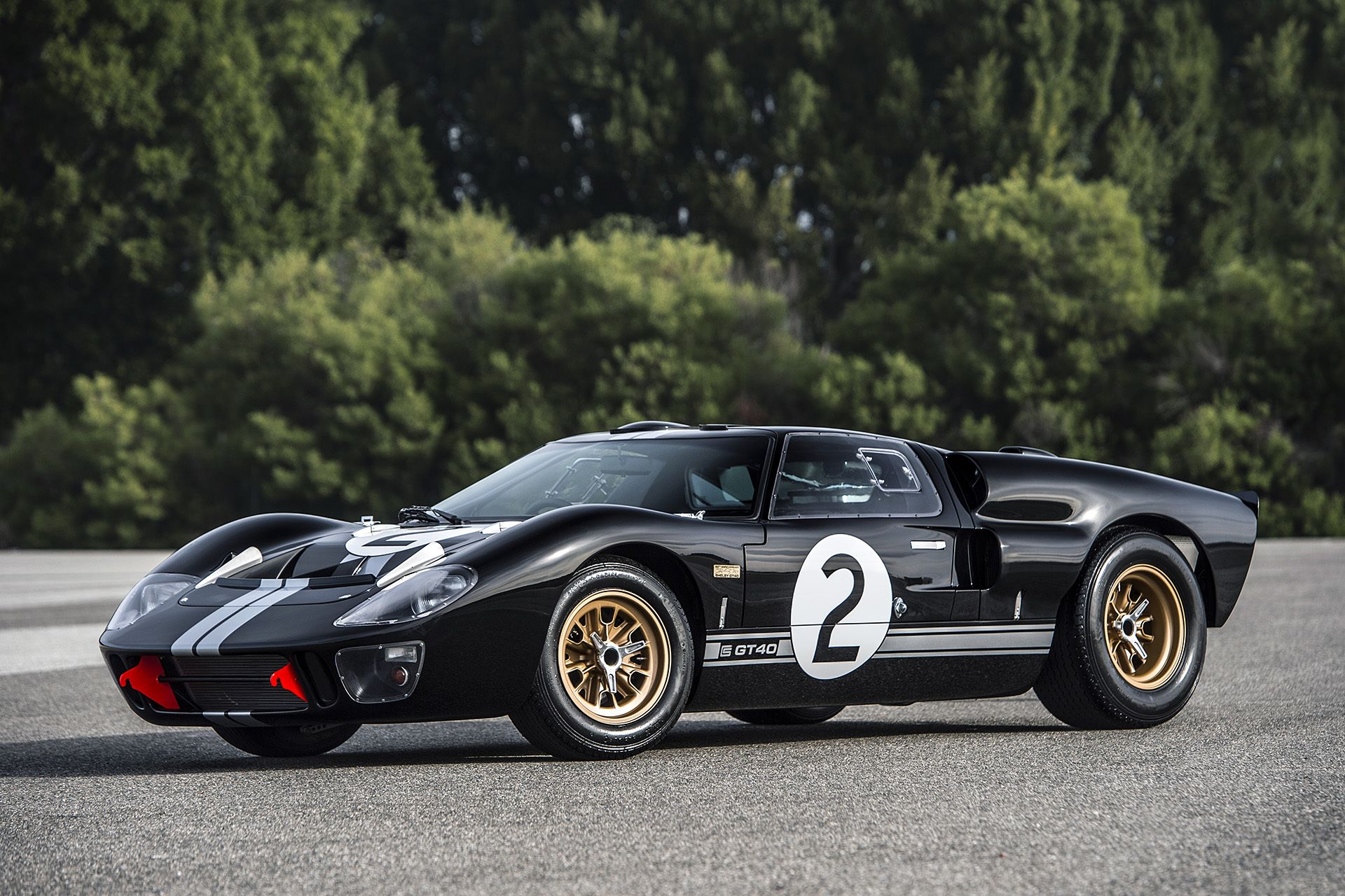 Superformance S 50th Anniversary Gt40 To Debut At Barrett Jackson Ford Gt40 Ford Gt Le Mans
