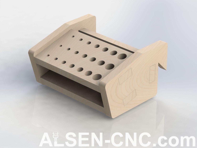 Photo of French Cleat – Handwerkzeughalter – ALSEN-CNC