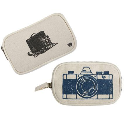 Camera Case - Thomaspaul Collection - What better way to carry your camera ... in old fashion way. The items in Thomaspaul Luddite and Big Busines Collection are inspired by this idea of turning back the clock and focusing on a simpler way of living.