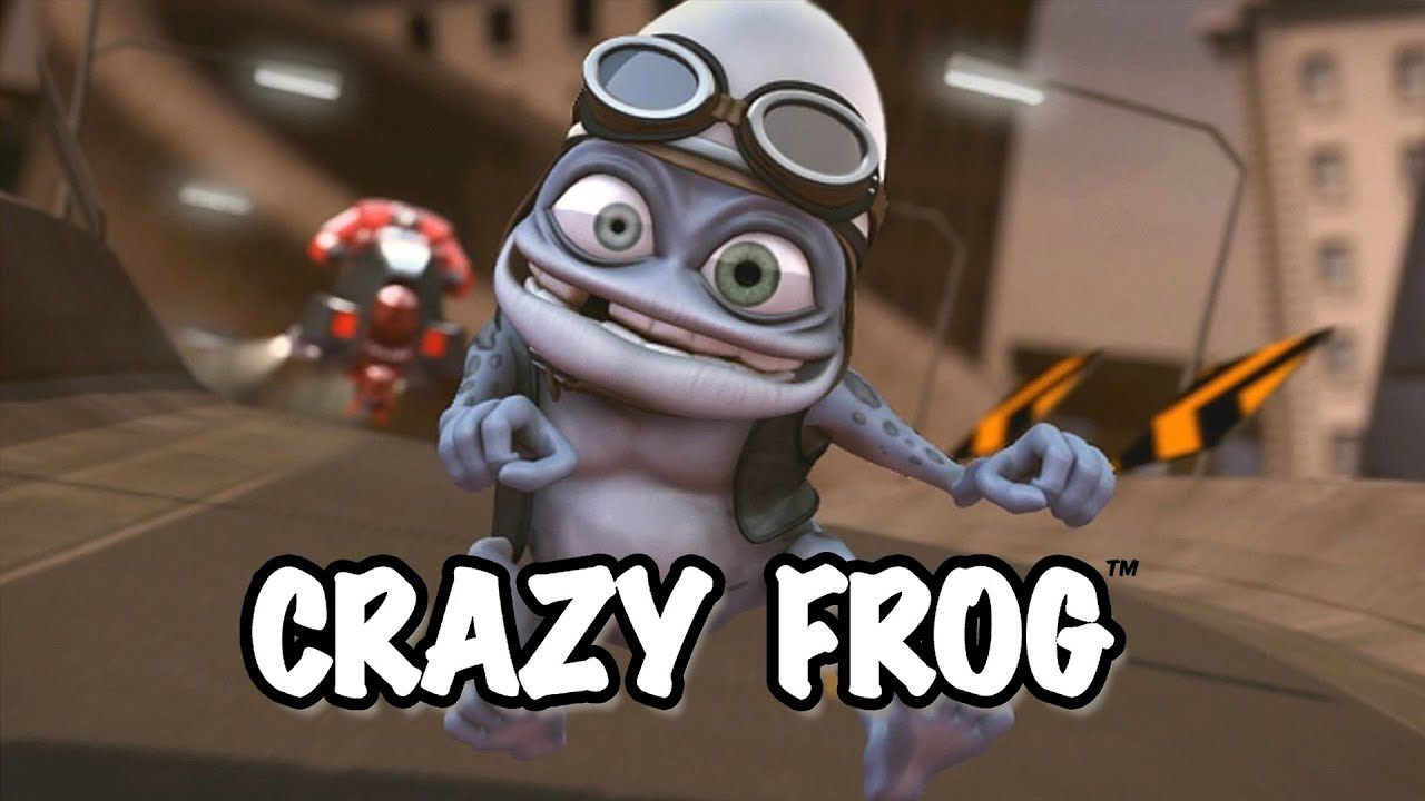 Crazy Frog Axel F (Official Video) Kids party music
