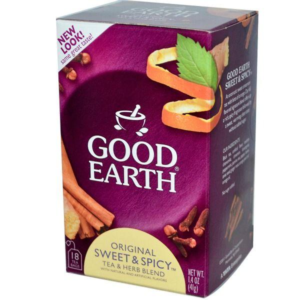 what makes good earth tea sweet