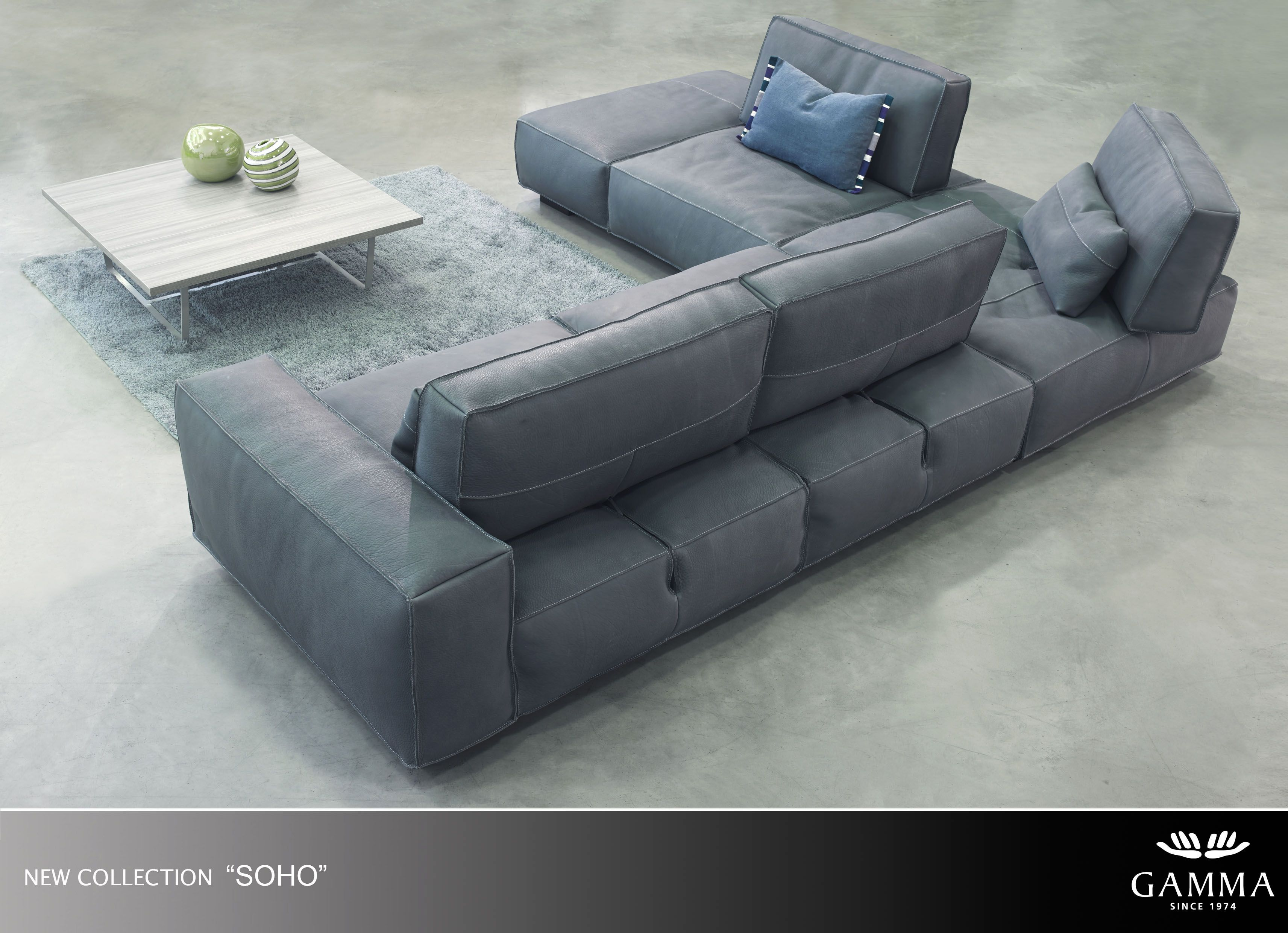 Soho By Gamma Especially For You Sofa Bench Sectional