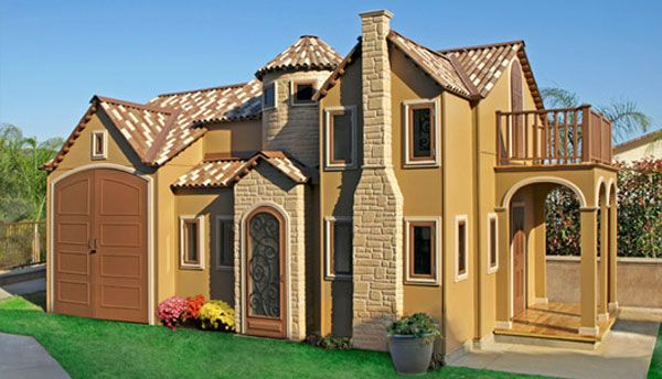 Big Playhouses For Sale Liliput Play Homes Expensive Playhouses To Pamper Every Child Luxury Playhouses Play Houses Big Playhouses