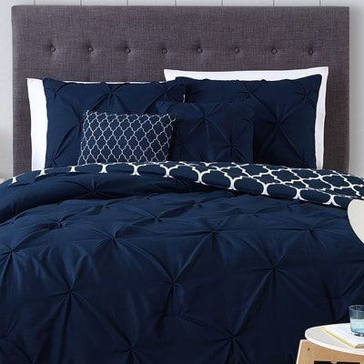 Navy Blue and Gray Bedroom Ideas images