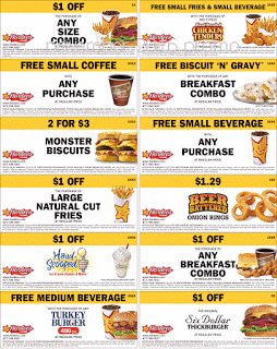 image about Hardee's Printable Coupons known as Hardees Discount codes Cost-free Printable Discount coupons No cost printable