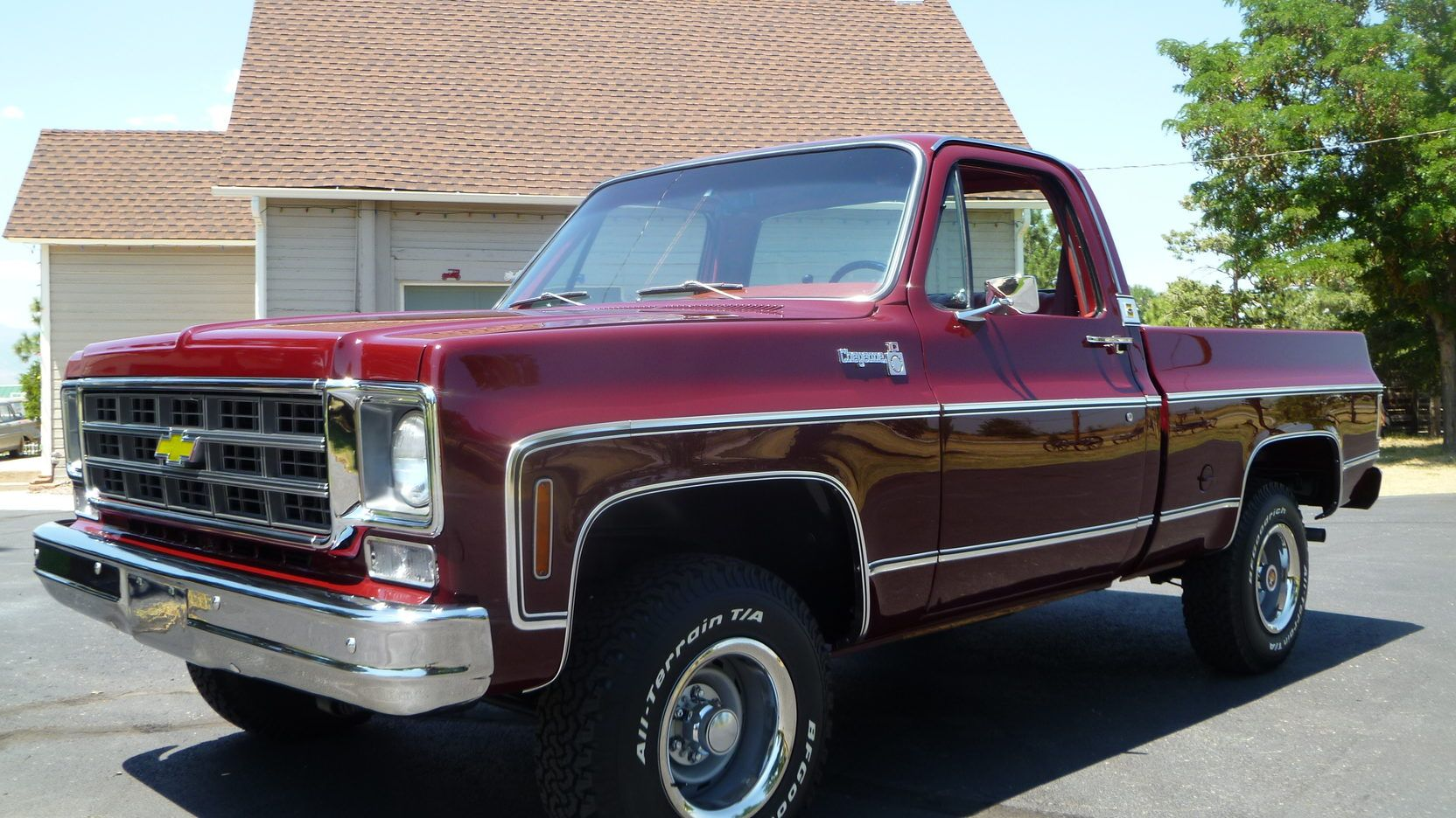 1978 Chevrolet Cheyenne C10 Pickup Presented As Lot F106 At