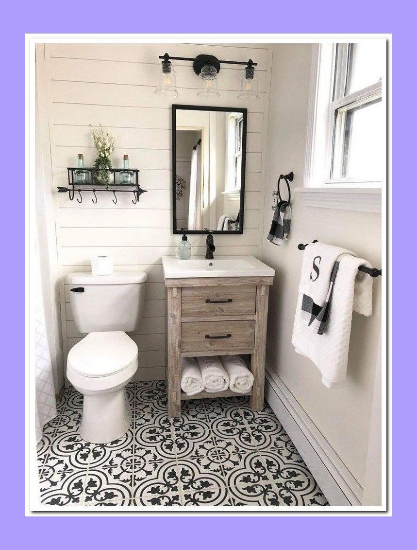 Photo of 53 überraschende kleine Badezimmer Design Ideen und Dekor 26 # Badezimmer # Dekor # Design #i …