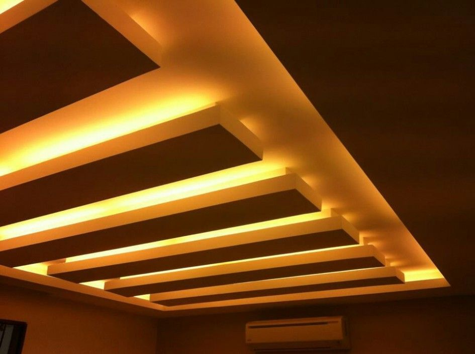 Easy To Do Procedure Of How To Plaster Ceilings Wooden Ceiling With Hidden Led Light Feats Cool Light Plaster Ceiling Design Wooden Ceilings Painted Ceiling