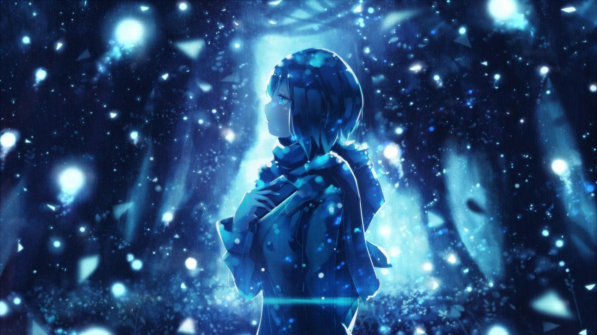 Anime Wallpaper 1366 x 768 Winter by Aditalfian HD Anime