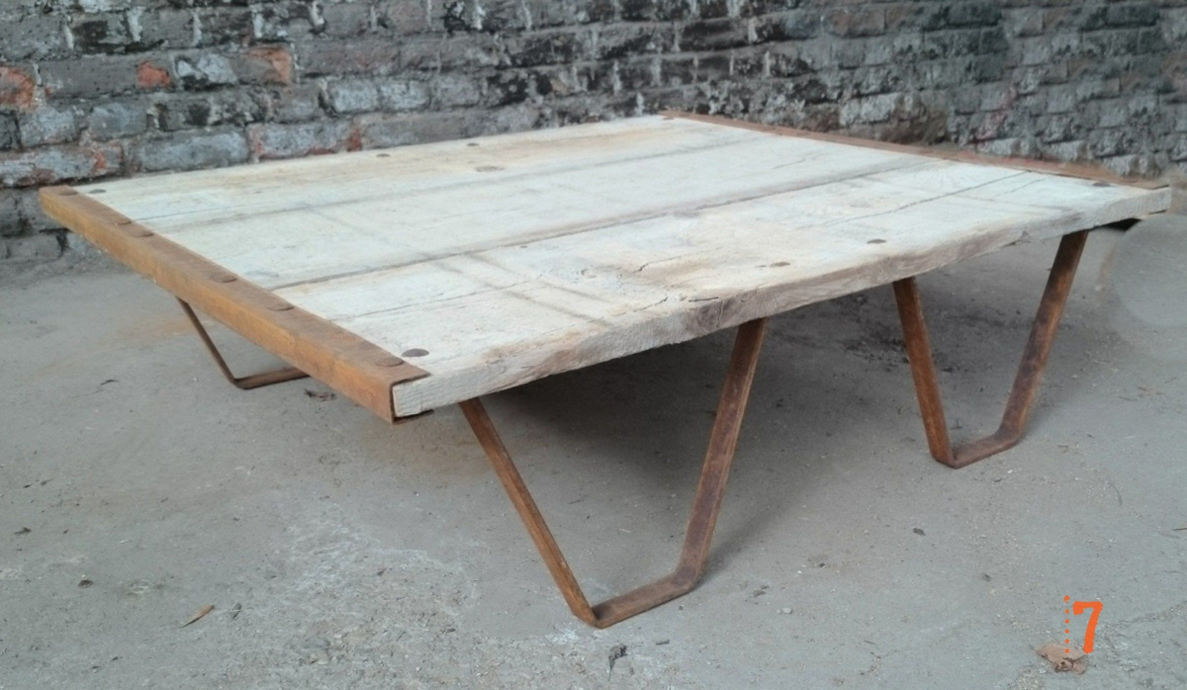 Industrial U0026 Vintage Furniture By Shop Our Solid Wood Garden Coffee Table  Now.