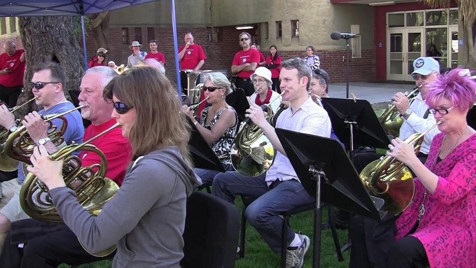Random Acts of Culture™ - San Jose, California. On Sunday, August, 5, 2012, performers from Symphony Silicon Valley surprised people at Targ...