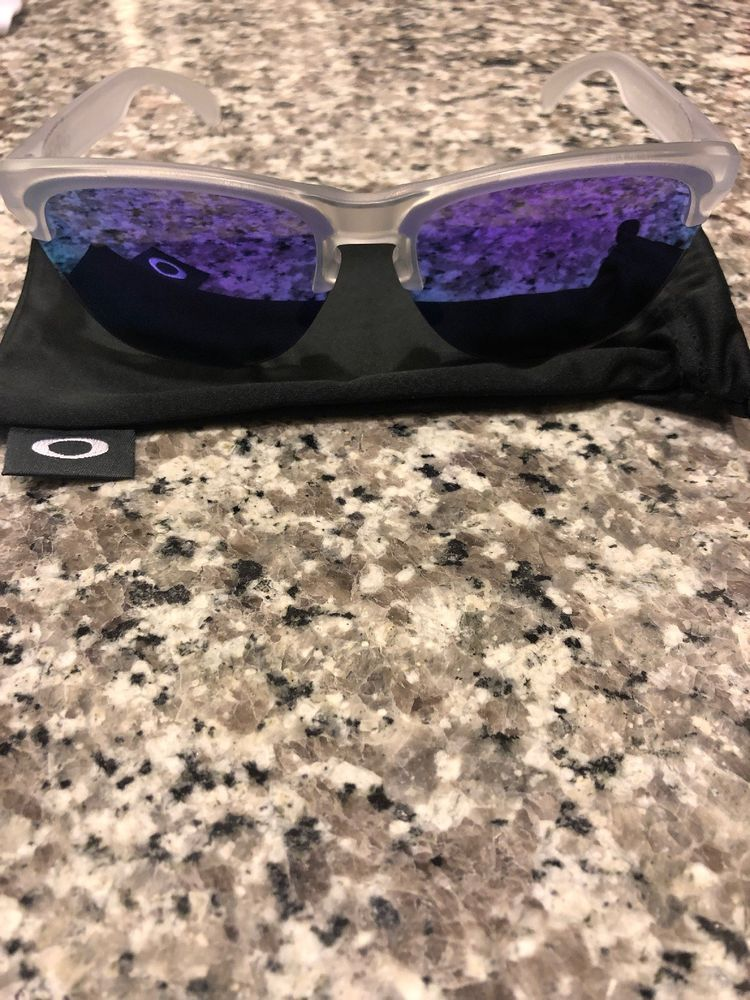 a0a38109f Oakley FROGSKIN Lite Matte Clear Violet iridium OO9374-0363 #fashion  #clothing #shoes #accessories #mensaccessories  #sunglassessunglassesaccessories (ebay ...