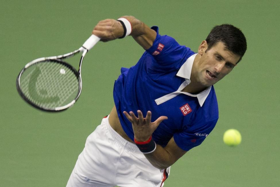 Djokovic Defeats Federer Pictures Reuters Tennis Tournaments Open Championship Novak Djokovic
