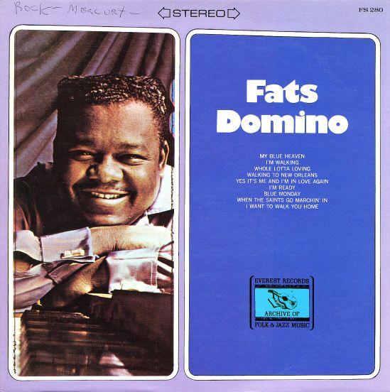 Fats Domino Everest Vinyl Record Album Vinyl Records Dominos Image