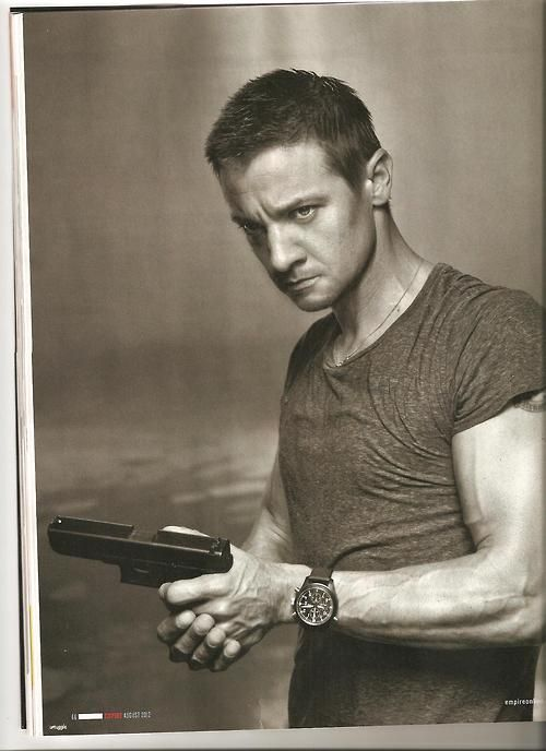 When I see this face, I now think of Clint Barton.
