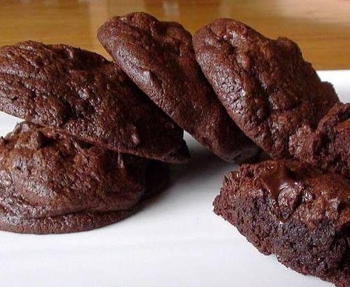 Receta galletas con doble chocolate