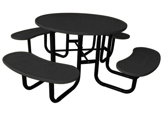 Sunperk Site Furnishings, Commercial Picnic Table SPP-203
