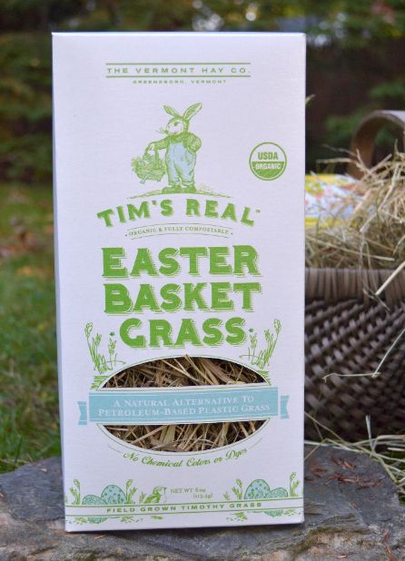 This easter consider using real grass in baskets and gifts instead tims real easter basket grass a natural compostable alternative to petroleum based plastic easter basket grass one box is enough for 2 medium sized negle Image collections
