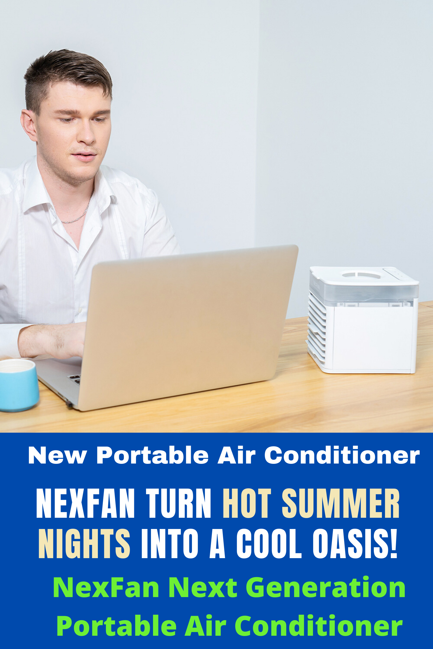 NexFan The Next Generation Portable Air Conditioner in