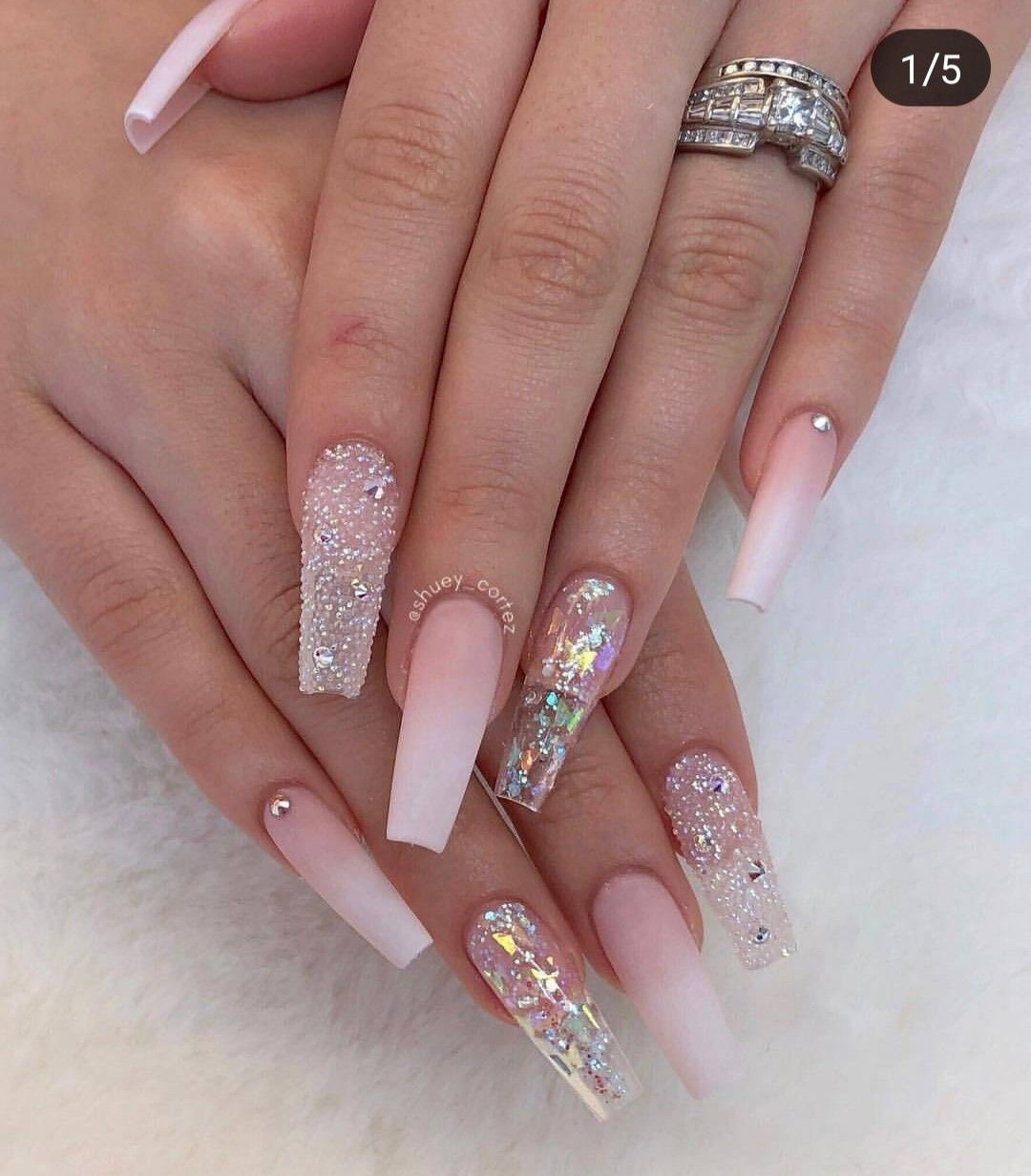 Pin by Hue By J. Simpson on Nails   Ballerina nails ...